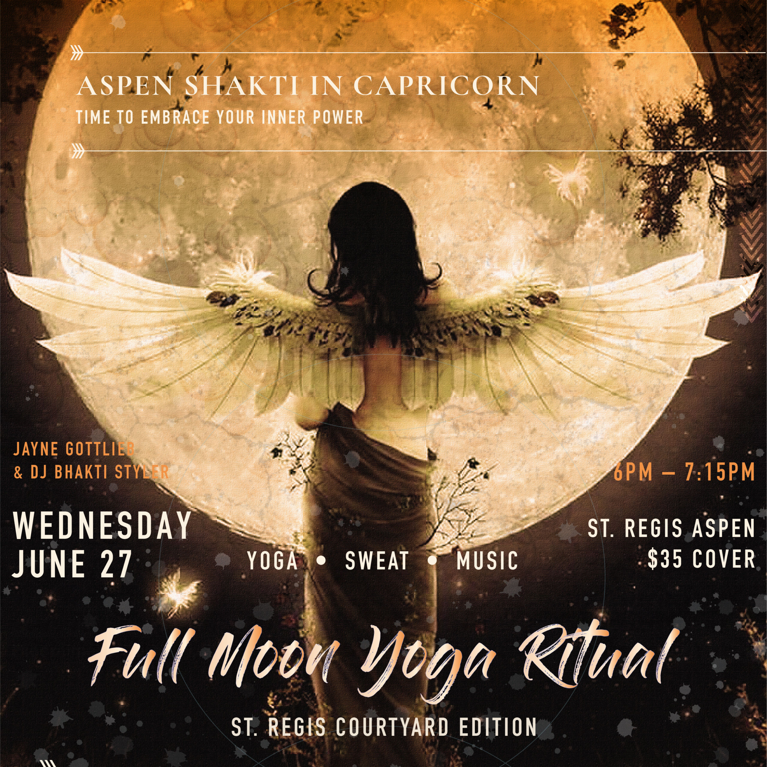 Capricorn Full Moon Yoga at St. Regis: June 27, 2018 (Demo)