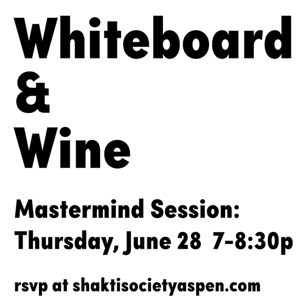 Whiteboard & Wine - Mastermind Session June 28, 2018 (Demo)