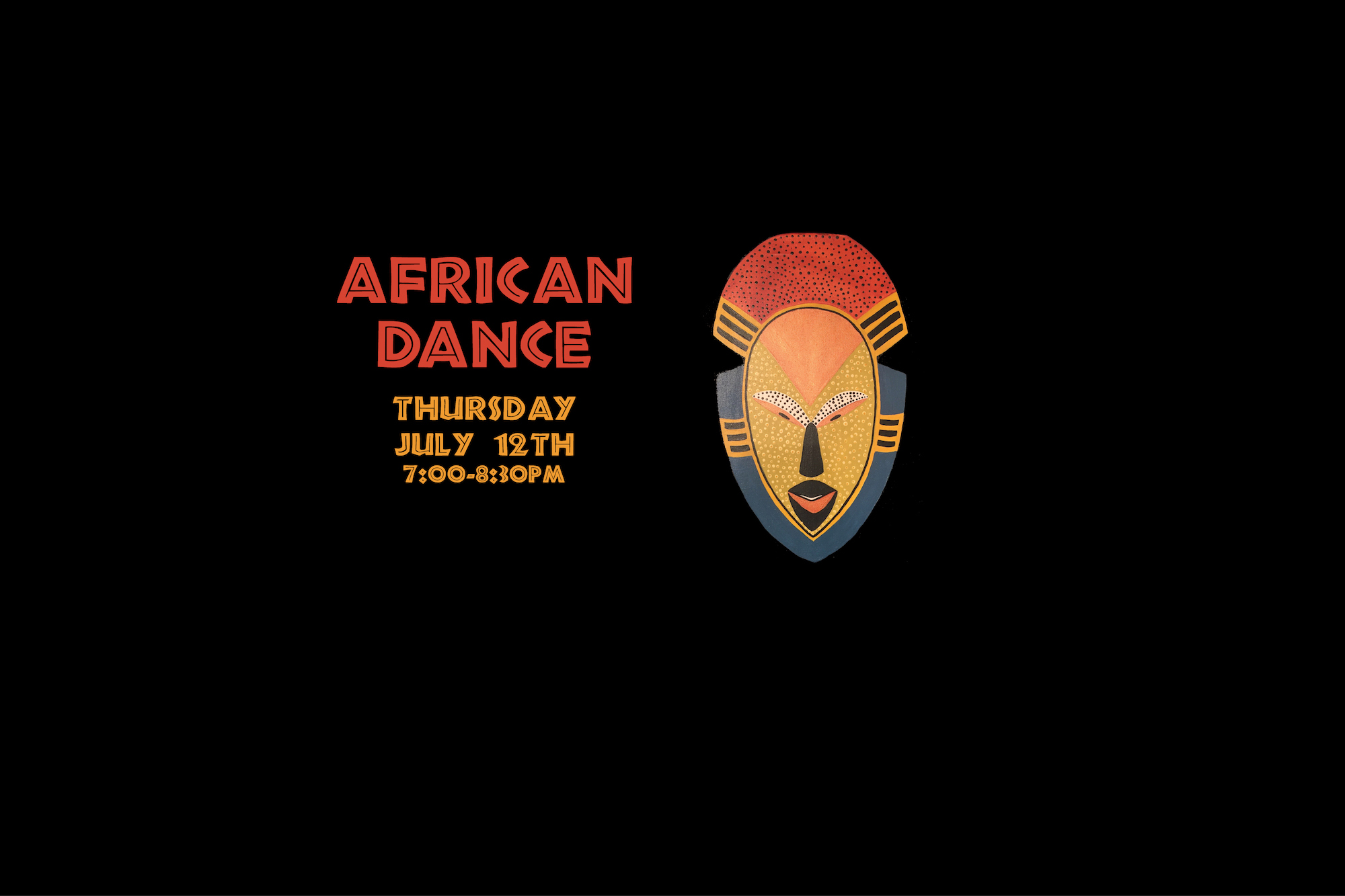 African Dance with Leeza Monge Thursday August 9, 2018